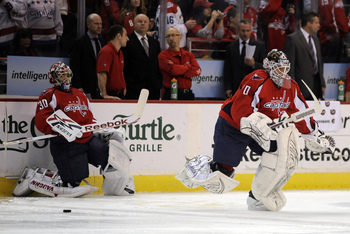 Will Michal Neuvirth be backing up Braden Holtby?