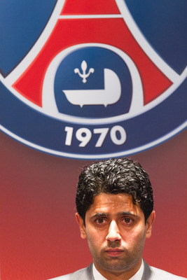 Nasser Al-Khelaifi is the President of PSG.