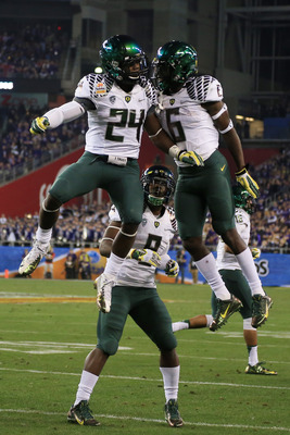 Kenjon Barner and De'Anthony Thomas