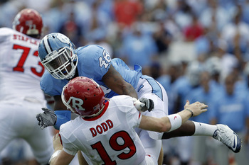 North Carolina ILB Kevin Reddick (48)