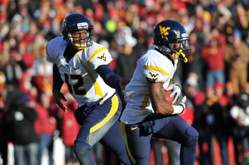 Geno Smith and Tavon Austin