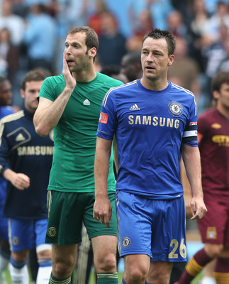 Petr Cech and John Terry are missing from the Chelsea team at the moment.