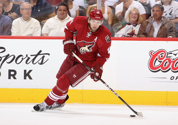 Phoenix Coyotes center Martin Hanzal will be counted on for an increase in production this season.