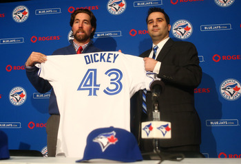 R.A. Dickey was just the icing on the cake for Toronto.
