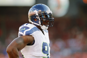 Seattle Seahawks defensive end Chris Clemons.
