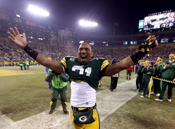 Green Bay Packers safety Charles Woodson.