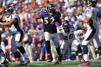 Ray Lewis willl be looking to disrupt the Denver offense.