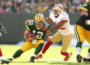 San Francisco will need to apply steady pressure on Aaron Rodgers.