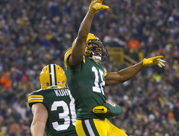 Randall Cobb had plenty of reasons to celebrate in 2012.