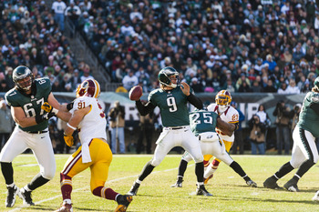 Nick Foles has a good chance to be the Eagles' starting quarterback in 2013.