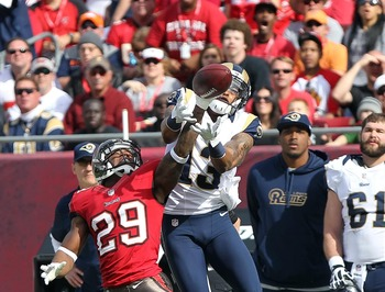 Chris Givens led the Rams with 698 receiving yards in 2012.
