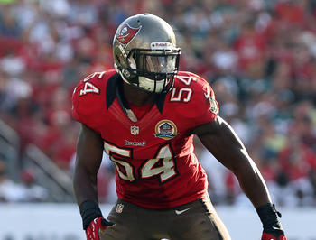 Lavonte David led the Bucs with 139 tackles in 2012.