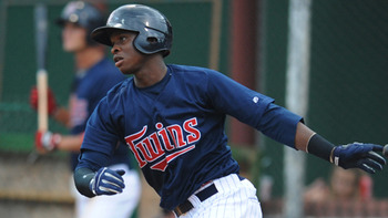 Twins top prospect 3B Miguel Sano // Courtesy of MiLB.com