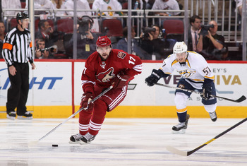 The Phoenix Coyotes will count on wing Radim Vrbata for 30-plus goals this season to help spearhead the Coyotes' offense.