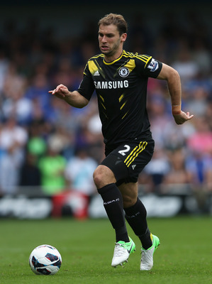 LONDON, ENGLAND - SEPTEMBER 15:  Branislav Ivanovic of Chelsea in action during the Barclays Premier League match between Queens Park Rangers and Chelsea at Loftus Road on September 15, 2012 in London, England.  (Photo by Julian Finney/Getty Images)