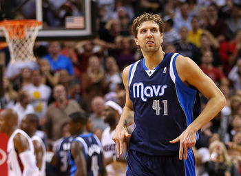 Dirk Nowitzki hasn't had much chance, but he hasn't been efficient in his return from injury.