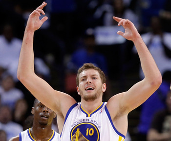 David Lee is having an incredible first half of the season for Golden State.