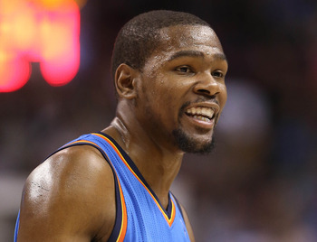 Kevin Durant is the second most efficient player in the league.