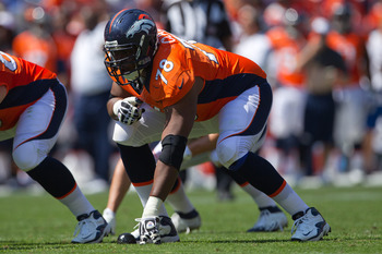 Ryan Clady has been terrific in protecting Peyton Manning.