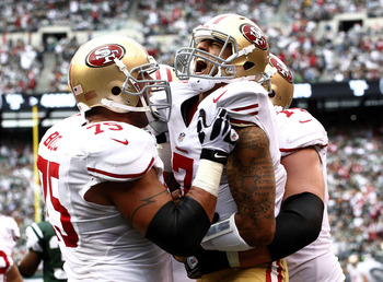 The 49ers may have the best offensive line in football.