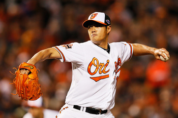 Orioles starter Wei-Yin Chen