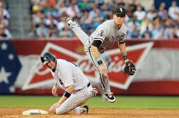 White Sox second baseman Gordon Beckham
