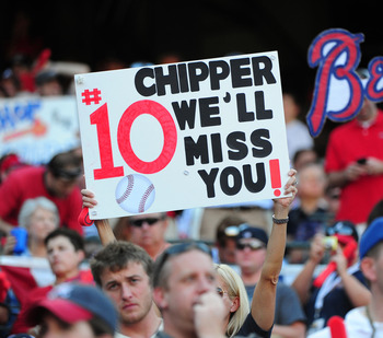 How will the Braves replace Chipper Jones?