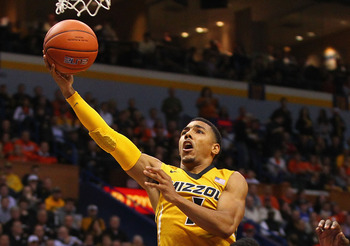 Mizzou point guard Phil Pressey is explosive in the open floor.