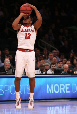Guard Trevor Releford is leading the Alabama Crimson Tide in scoring this season.