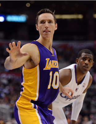 Steve Nash isn't nearly as springy as he used to be and needs rest