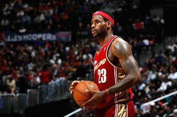 LeBron James, 2009-10 season with Cleveland Cavaliers.