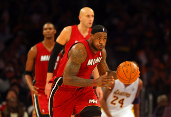 2010-11, LeBron James' first season with Miami Heat.
