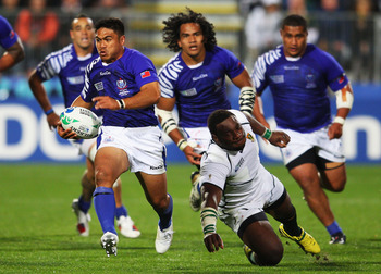 Samoa look to be capable of big things on the world stage.