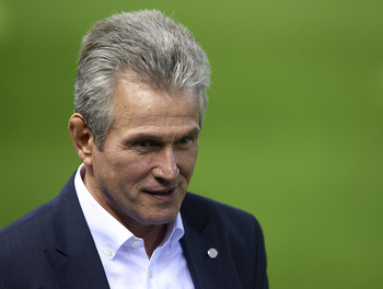 Jupp Heynckes is currently in charge of Bayern Munich.