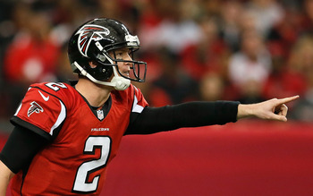 I'm predicting another January loss for Matt Ryan and the Falcons.
