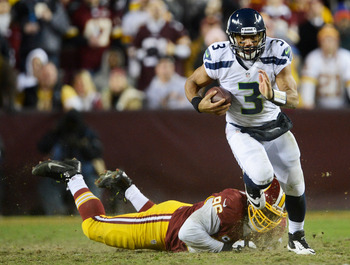 Russell Wilson was terrific last Sunday against the Redskins.