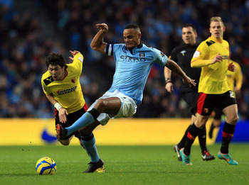 Vincent Kompany has been exceptional from the moment he arrived.