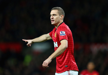 Nemanja Vidic has returned from a long injury.