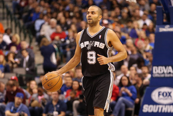 Tony Parker has been around for a while, but he's still young.