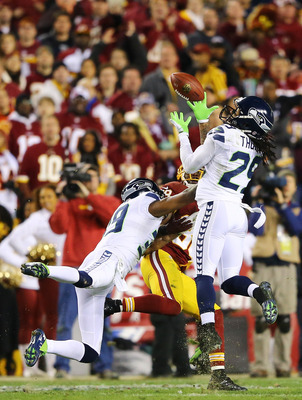 Earl Thomas secured a key interception in last week's Wild Card game.