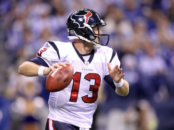 In the 2011 playoffs, T.J. Yates started two playoff games, losing the second to the Ravens.