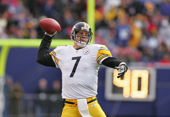 The Steelers won a Divisional Round game in the 2004 playoffs despite mediocre play from Roethlisberger.