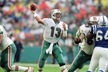 Dan Marino played in just one playoff game his rookie season.