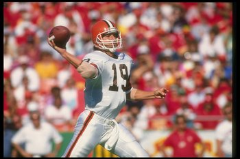 Bernie Kosar and the 1985 Browns were one of the worst teams to make the playoffs in NFL history.