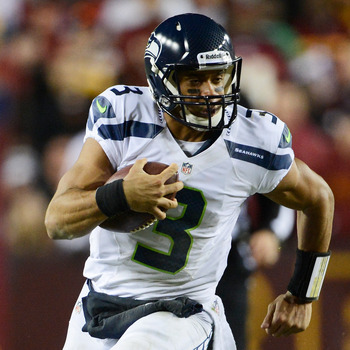 Russell Wilson won't have it as easy against the Falcons as he had it against the Redskins.