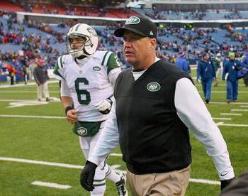 Something tells me that next season will be Mark Sanchez and Rex Ryan's last season with the Jets.