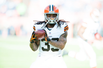 The Browns have a talented RB in Trent Richardson.