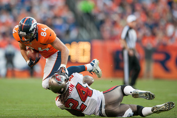 Jacob Tamme is the better of the Broncos' tight end duo.