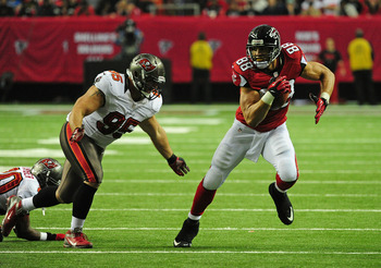 Tony Gonzalez is the second-leading receiver in NFL history.