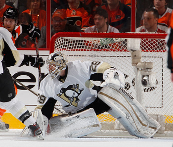 Marc-Andre Fleury didn't do so well in the 2012 playoffs.